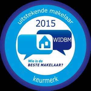 WIDBM uitstekende makelaar keurmerk